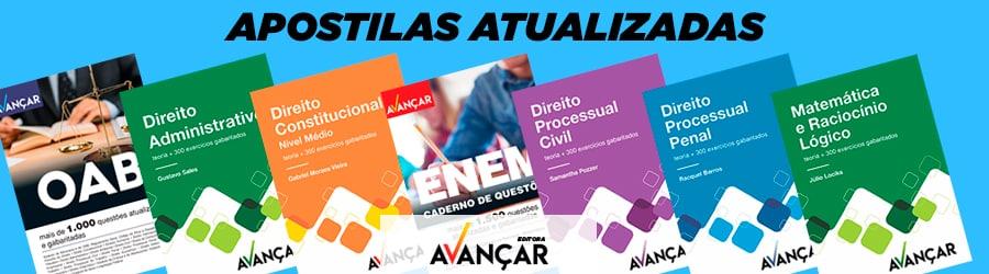 Banner Apostilas Editora Avançar