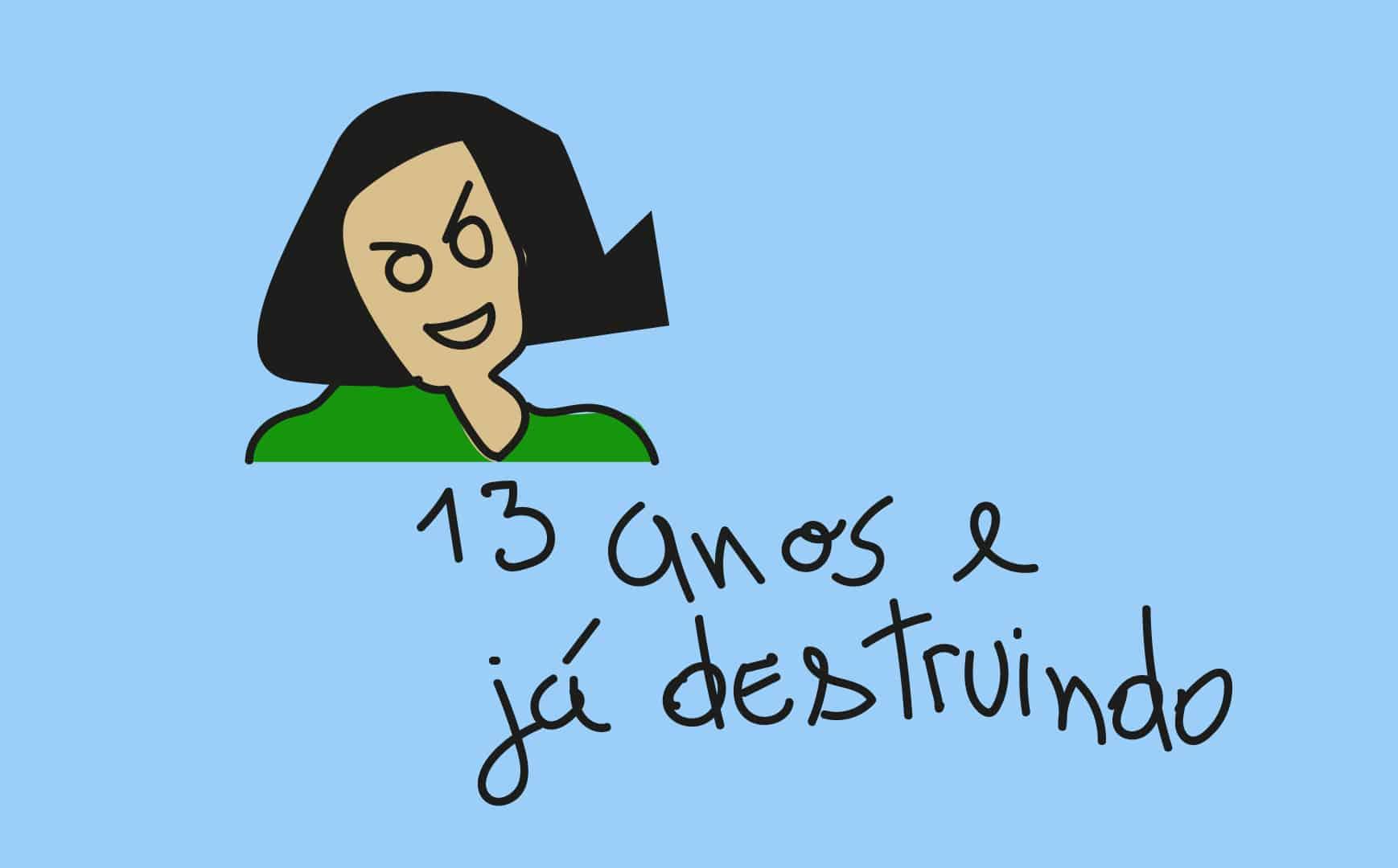 Anne Frank, maestria em letras, línguas e escrita aos 13 anos.